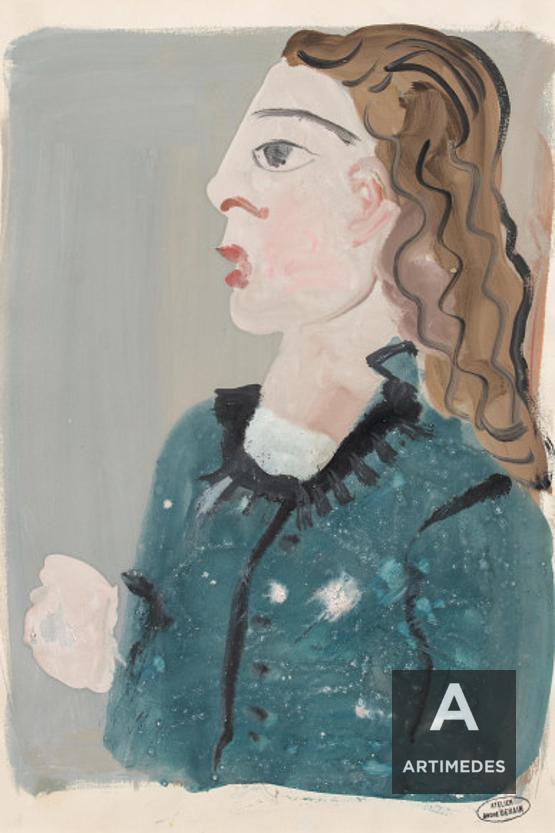 André Derain / Femme De Profil - Front