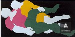 Franz Gertsch / Liebespaar