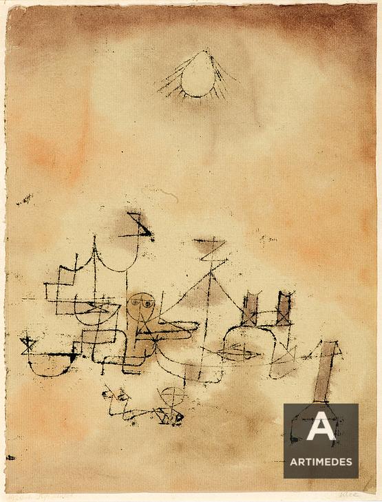 Paul Klee / Nordafrikanisch - Front