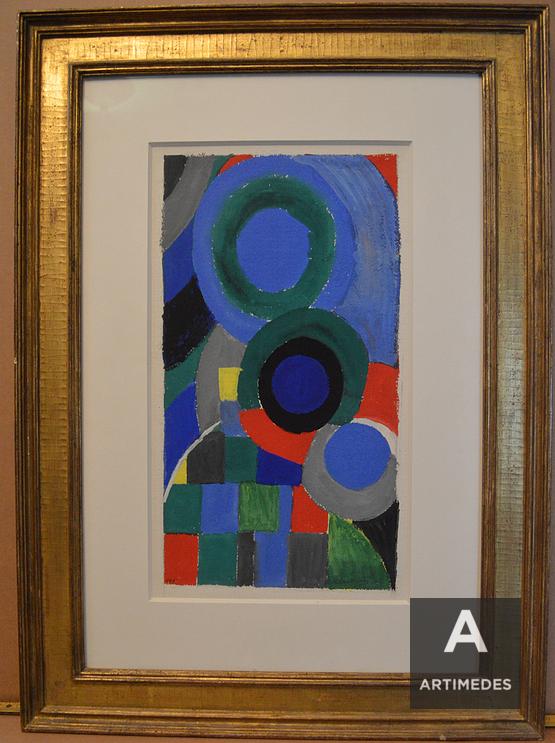 Sonia Delaunay / Ohne Titel - Front 2