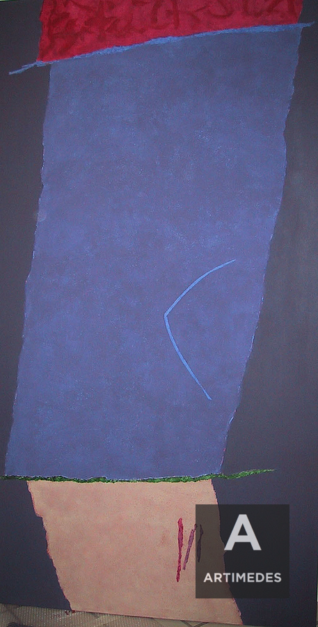 Theodoros Stamos / Infinity Field - Lefkada Series, Dark Field - Front